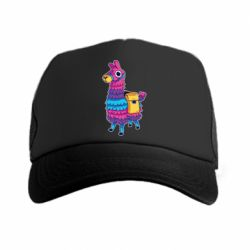 Кепка-тракер Fortnite colored llama