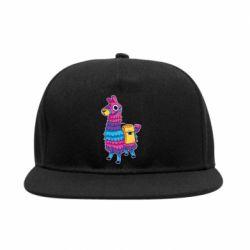 Снепбек Fortnite colored llama