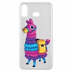 Чехол для Samsung A6s Fortnite colored llama