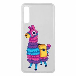Чехол для Samsung A7 2018 Fortnite colored llama