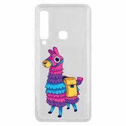 Чехол для Samsung A9 2018 Fortnite colored llama