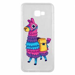 Чехол для Samsung J4 Plus 2018 Fortnite colored llama