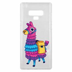 Чехол для Samsung Note 9 Fortnite colored llama