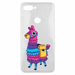 Чехол для Xiaomi Mi8 Lite Fortnite colored llama