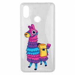 Чехол для Xiaomi Mi Max 3 Fortnite colored llama