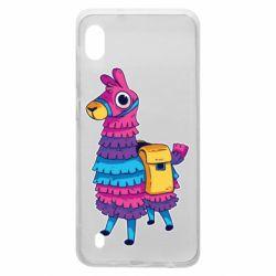 Чехол для Samsung A10 Fortnite colored llama