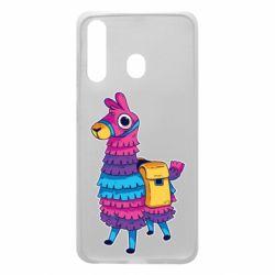Чехол для Samsung A60 Fortnite colored llama