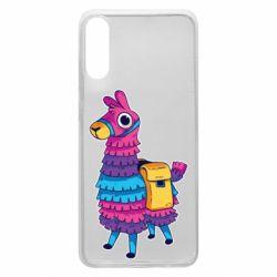 Чехол для Samsung A70 Fortnite colored llama