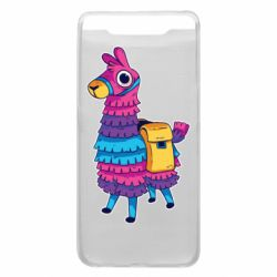 Чехол для Samsung A80 Fortnite colored llama
