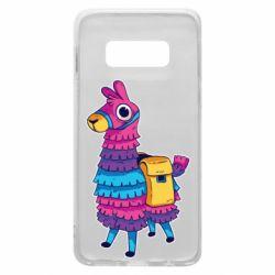 Чехол для Samsung S10e Fortnite colored llama