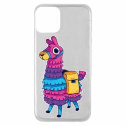 Чехол для iPhone 11 Fortnite colored llama