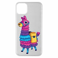 Чехол для iPhone 11 Pro Max Fortnite colored llama