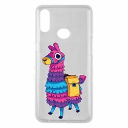 Чехол для Samsung A10s Fortnite colored llama