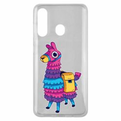 Чехол для Samsung M40 Fortnite colored llama