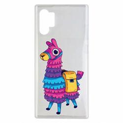 Чехол для Samsung Note 10 Plus Fortnite colored llama