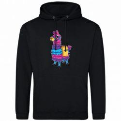 Мужская толстовка Fortnite colored llama