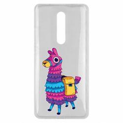 Чехол для Xiaomi Mi9T Fortnite colored llama