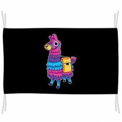 Флаг Fortnite colored llama