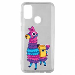 Чехол для Samsung M30s Fortnite colored llama