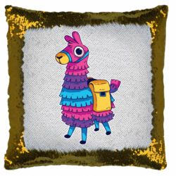 Подушка-хамелеон Fortnite colored llama