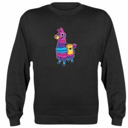Реглан (свитшот) Fortnite colored llama