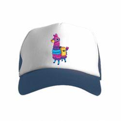 Детская кепка-тракер Fortnite colored llama