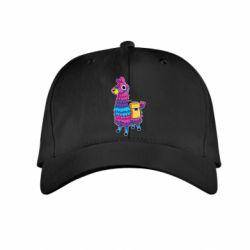 Детская кепка Fortnite colored llama