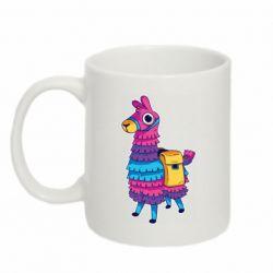 Кружка 320ml Fortnite colored llama