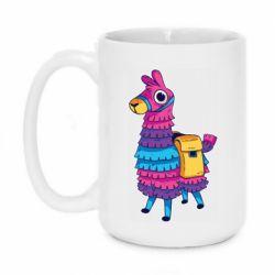Кружка 420ml Fortnite colored llama
