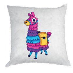 Подушка Fortnite colored llama
