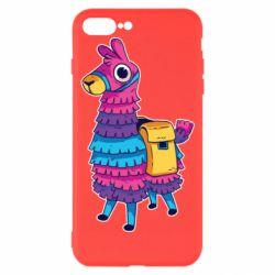 Чехол для iPhone 7 Plus Fortnite colored llama