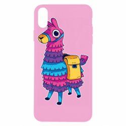 Чехол для iPhone X/Xs Fortnite colored llama