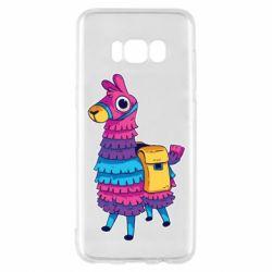Чехол для Samsung S8 Fortnite colored llama