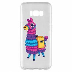 Чехол для Samsung S8+ Fortnite colored llama