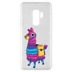 Чехол для Samsung S9+ Fortnite colored llama