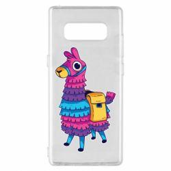 Чехол для Samsung Note 8 Fortnite colored llama