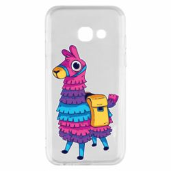 Чехол для Samsung A3 2017 Fortnite colored llama