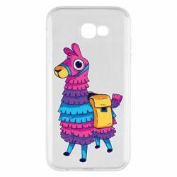 Чехол для Samsung A7 2017 Fortnite colored llama