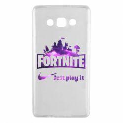 Чохол для Samsung A7 2015 Fortnite just play it