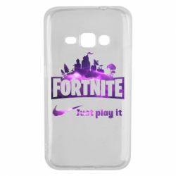 Чохол для Samsung J1 2016 Fortnite just play it