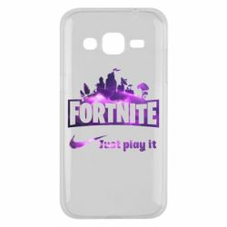 Чохол для Samsung J2 2015 Fortnite just play it