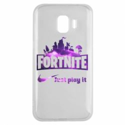 Чохол для Samsung J2 2018 Fortnite just play it