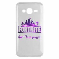 Чохол для Samsung J3 2016 Fortnite just play it