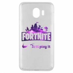 Чохол для Samsung J4 Fortnite just play it