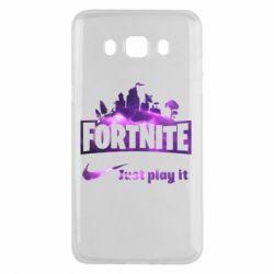 Чохол для Samsung J5 2016 Fortnite just play it