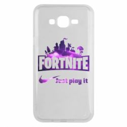 Чохол для Samsung J7 2015 Fortnite just play it