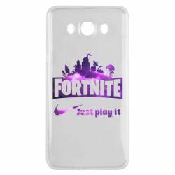 Чохол для Samsung J7 2016 Fortnite just play it