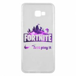 Чохол для Samsung J4 Plus 2018 Fortnite just play it