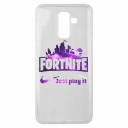 Чохол для Samsung J8 2018 Fortnite just play it