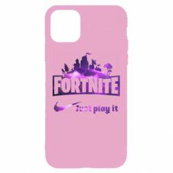 Чохол для iPhone 11 Fortnite just play it